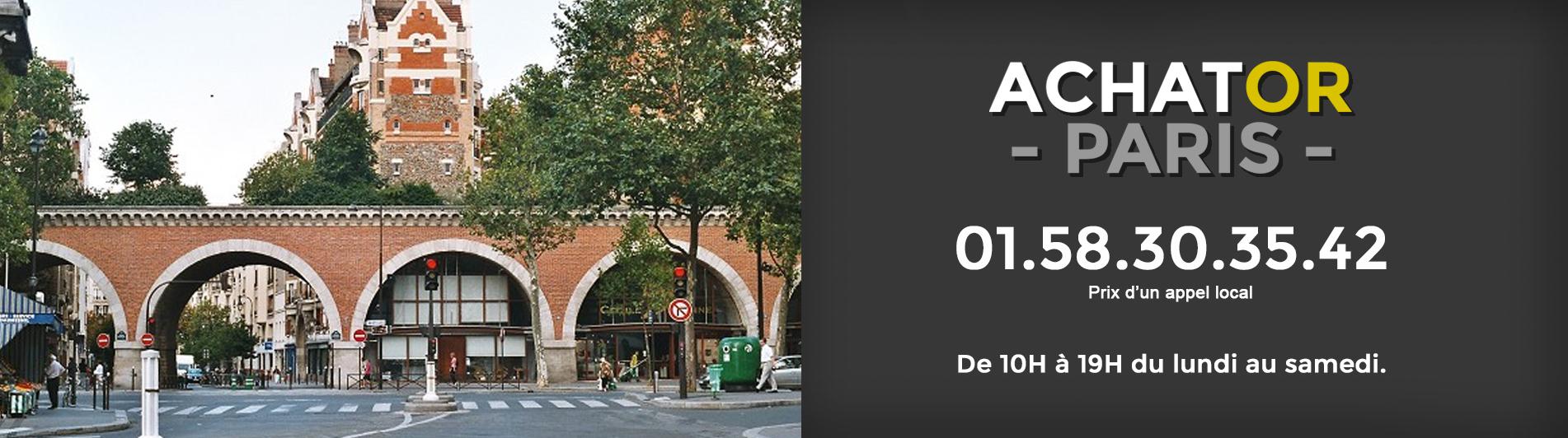 achat or Paris 12 75012