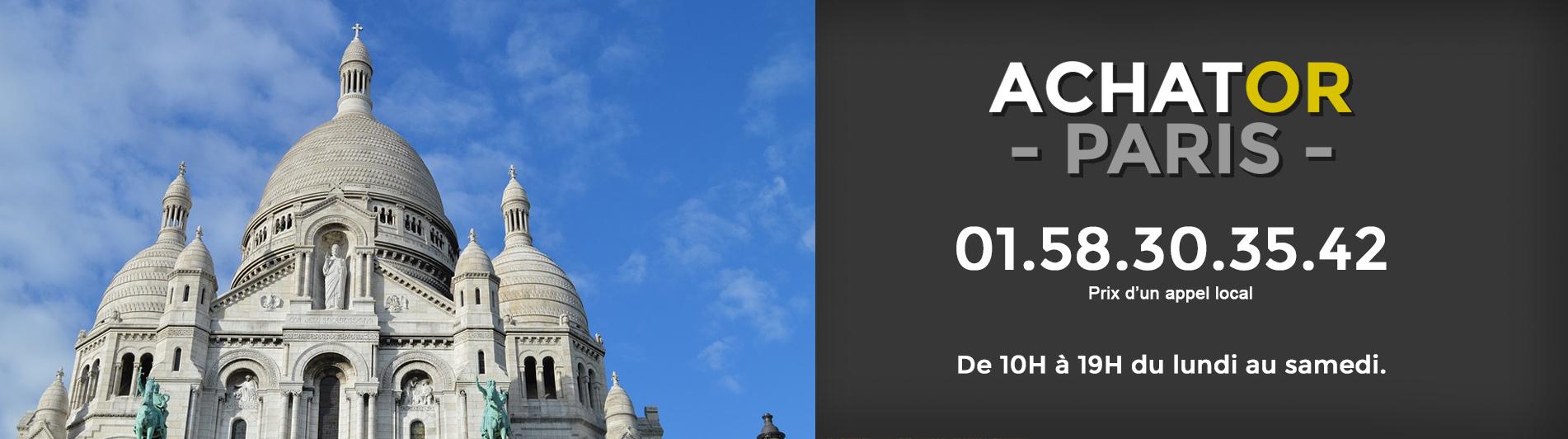 Achat or Paris 18 75018