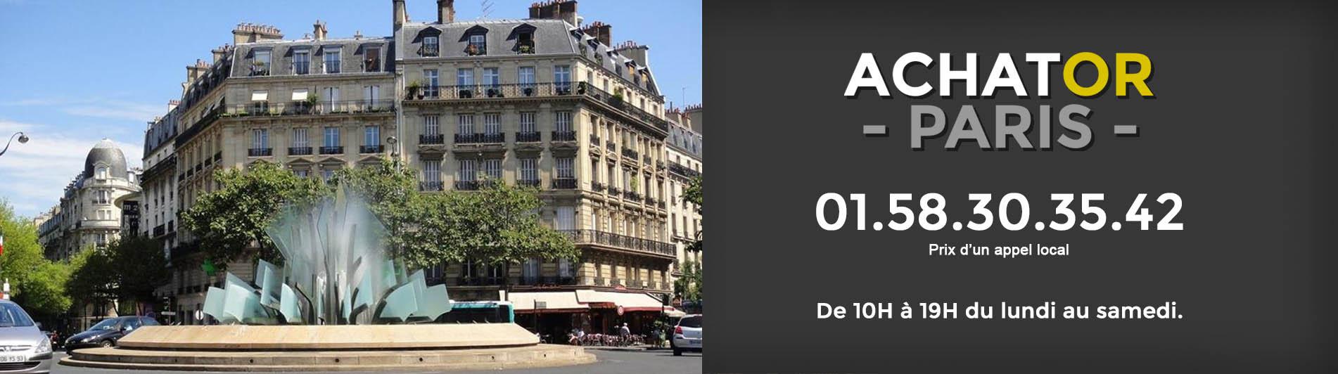 achat or Paris 20 75020