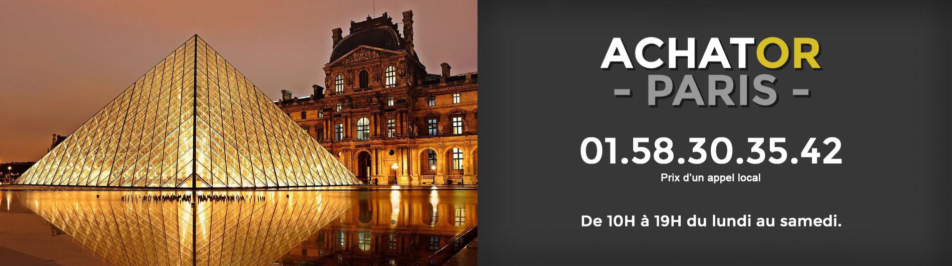 achat or Paris 1 75001
