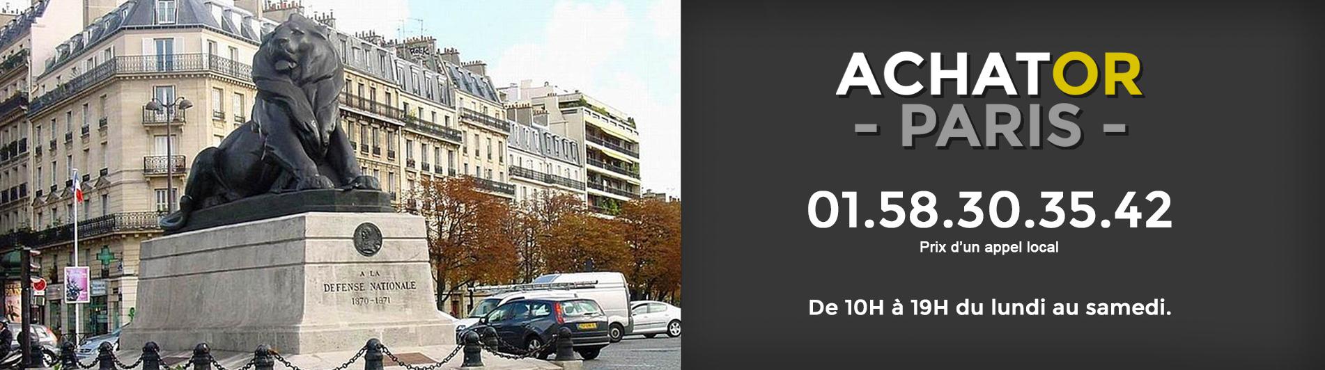 achat or Paris 14 75014