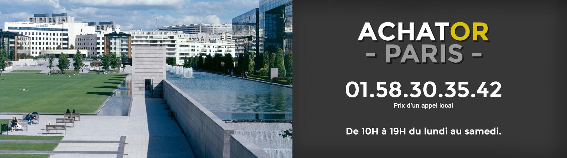 achat or Paris 15 75015