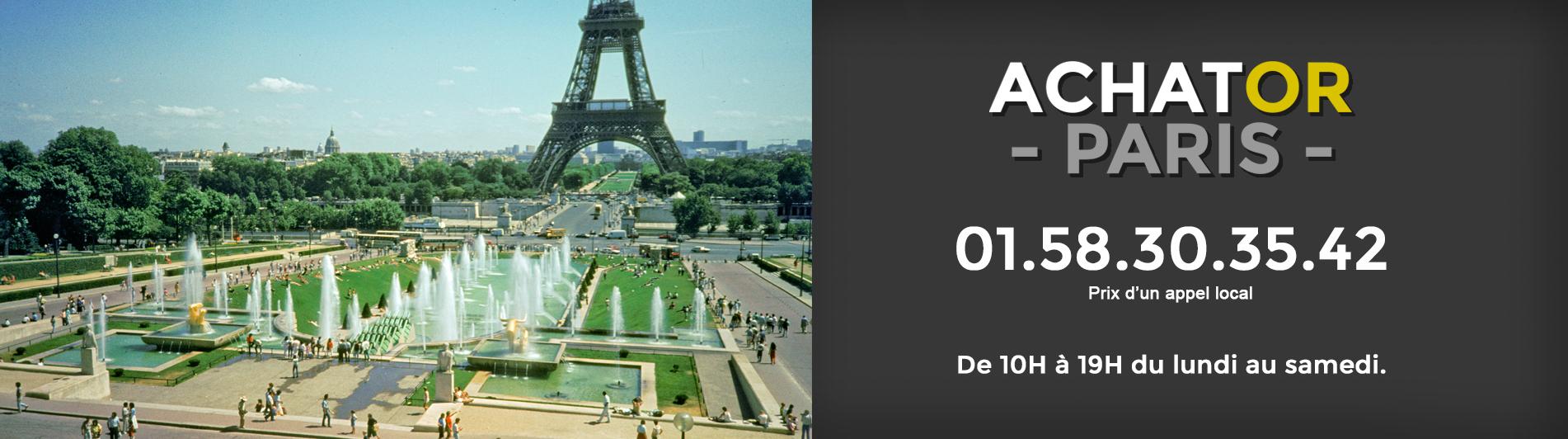 achat or Paris 16 75016