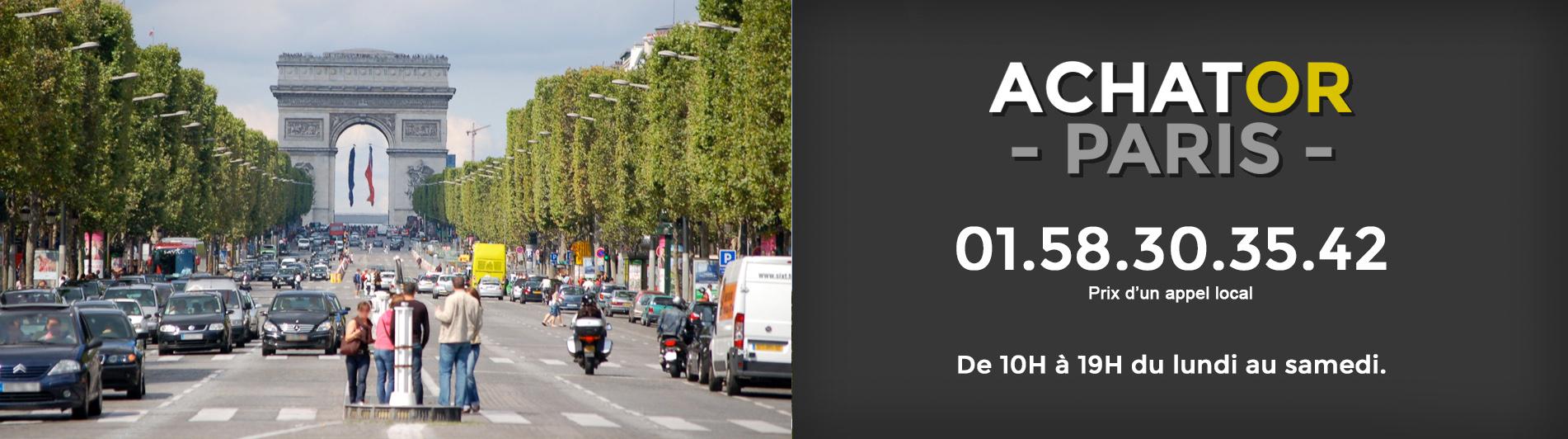 Achat or Paris 8 75008